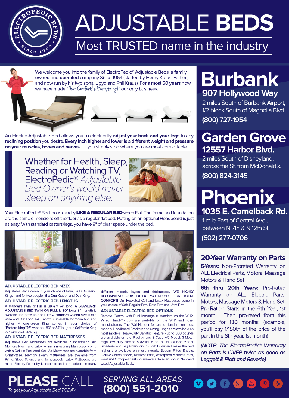 phoenix az compare latex foam to tempurpedic beds temperpedic
