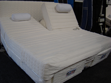 Eastern And California Kingsize Ergo Adjustable Beds With